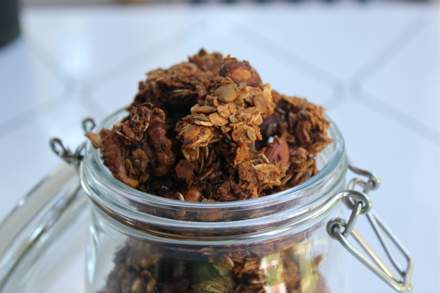Classic Cluster Granola // Girl and Granola